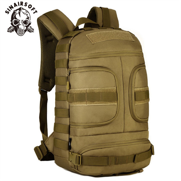 SINAIRSOFT 35L Nylon Tactical Backpack Waterproof 14 Inches laptop Military Package Outdoor Sport Camping Hiking Camera Bags #266085