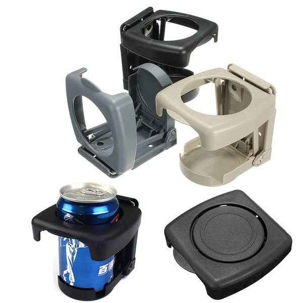 1PCS Universal Folding Car Cup Holder Multi-functional Drink Holder Auto Supplies Car Cup Car Styling Black Drink Cup Holder