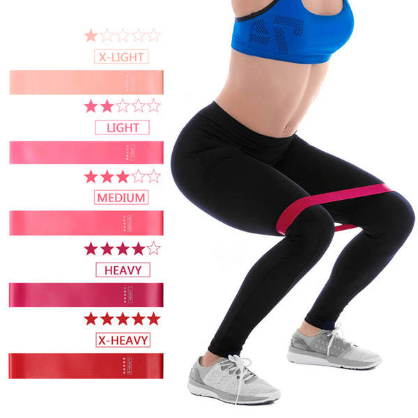 Resistance Band Training Fitness Gum Exercise Gym Strength Pilates Sport Rubber Elastic Band Crossfit Workout Equipment Expander