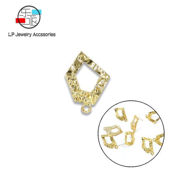 Unregelmäßige große Ohrringe für Frauen DIY-Schmuck finden handgefertigte Ohrringe Zubehör für die Herstellung von Basiskomponenten Material