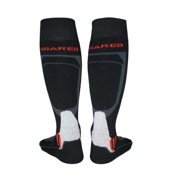 Thermo Ski Chaussettes thermique ski chaud épais coton Snowboard Cyclisme Football Chaussettes
