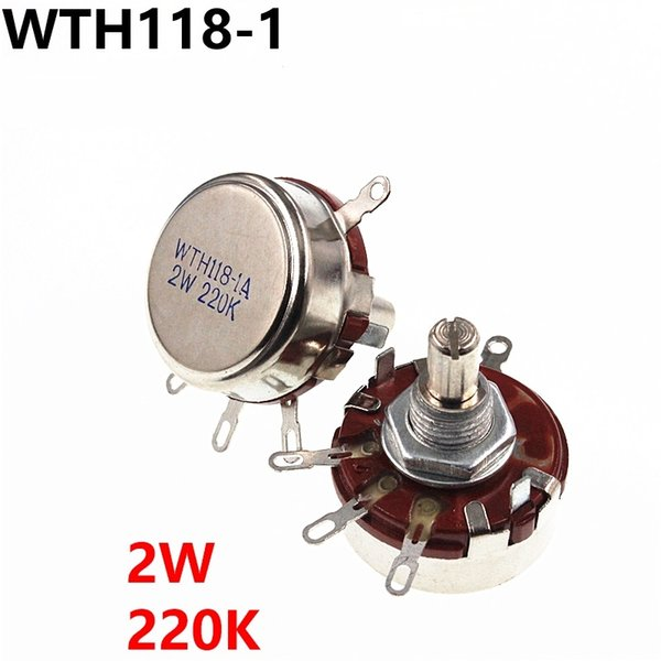 WTH118 2W 220k single turn carbon film potentiometer