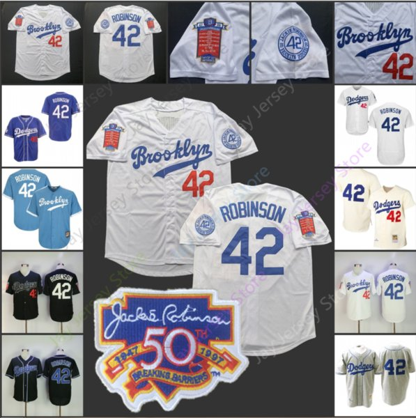 d1ae9e2c 2019 brooklyn dodger jackie robin on jer ey 50th patch home away all  titched black baby