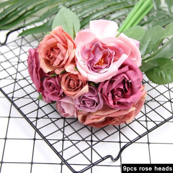 1240-rose-9PCS