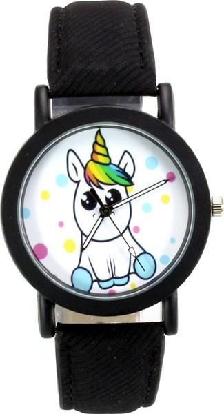 Modaroma unicornio Beyaz unisex Kol SAATI Buque de Turquía HB-004356286