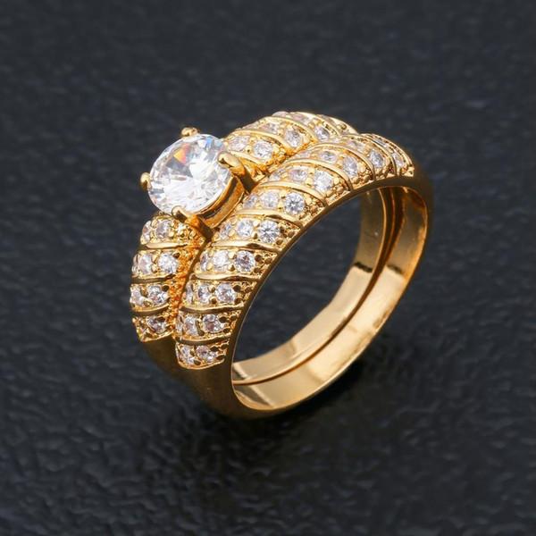 Accesorios explosión, las parejas estadounidenses y europeos, conjunto de anillos, señoras de la manera, de compromiso, anillo de compromiso, joyería del anillo