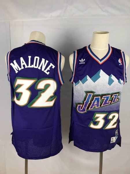 detailed look e718d 7fb2a 2019 Utah Jazz 12 John Stockton 32 Karl Malone 45 Donovan Mitchell  Basketball Jazz Jersey Stitched Shirts From Sz_c, $18.79 | DHgate.Com
