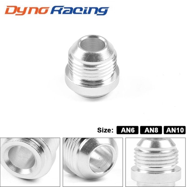 top popular Aluminum Weld On Fittting Bung Nut AN6 AN8 AN10 Valve Cover Catch Can High Quality 2021