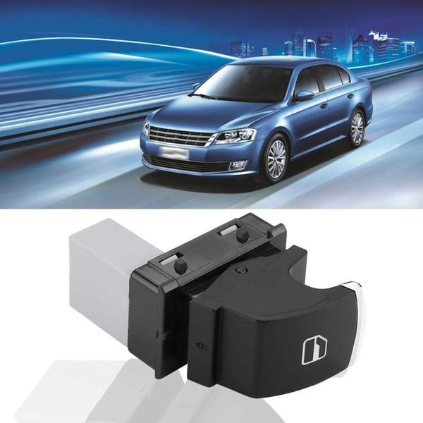 HQRP Interruttore di accensione finestrino passeggero cromato compatibile con sostituzione VW GOLF JETTA MK5 MK6 PASSAT CC B6 5ND959855.