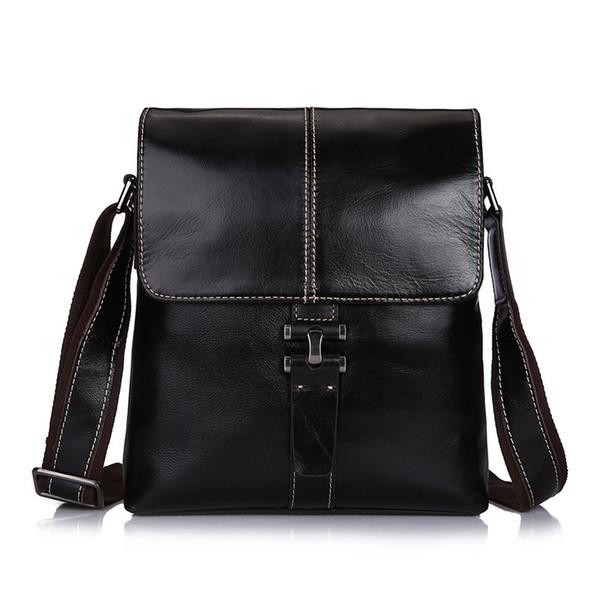 мужская натуральная кожа старинные плеча сумка мужской повседневная многофункциональный небольшой кроссбоди лоскут сумка человек сумки