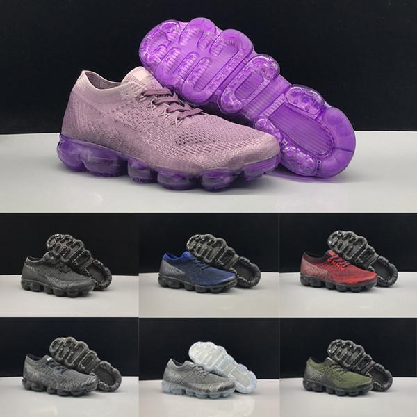 2018 Nike air max Vapor max 2018 Kinder Sportschuhe Kind-Jungen-Basketball-Schuhe Kinder Huarache Legend Blau Designer-Turnschuhe Größe 28-35 X140