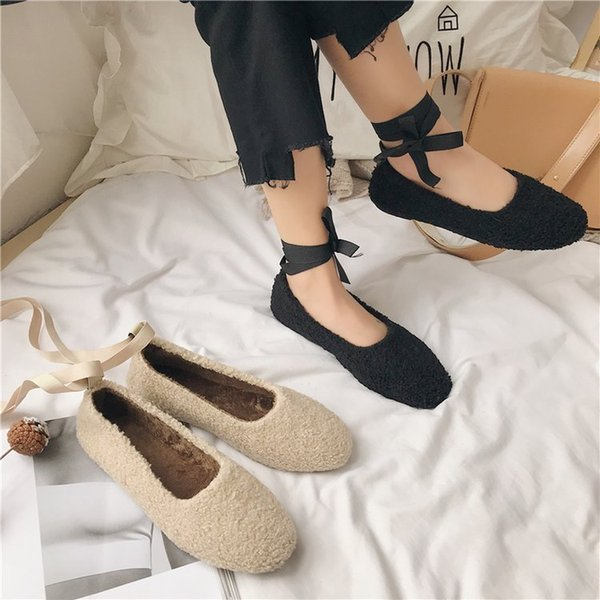 Fancy2019 Woman Baby Other Clothes Make An Early Start Student Doug Shoe Flat Bottom Single Shoes Tide