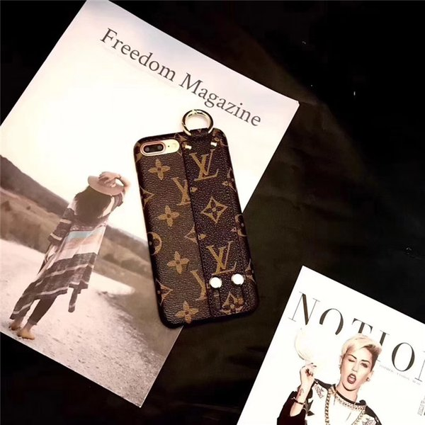 célèbre logo classique en cuir Shell Couverture de téléphone portable galvanisé Design de luxe pour IPhone XS MAX XR X 8 8P 7 7P 6 6s Plus protection