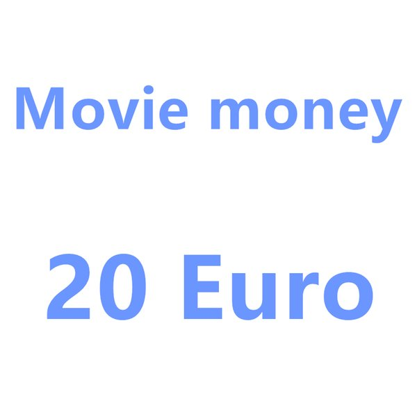 best selling 2020 Hottest Kids Gift 10 20 50 100 Euro fake money billet Movie money faux billet euro 20 play Collection and Gifts