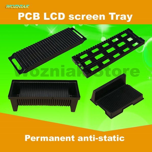 Wozniak Platine écran LCD pour téléphone mobile antistatique Carte de circuit imprimé Carte de circuit imprimé ESD Boîte de composants Insérez un disque
