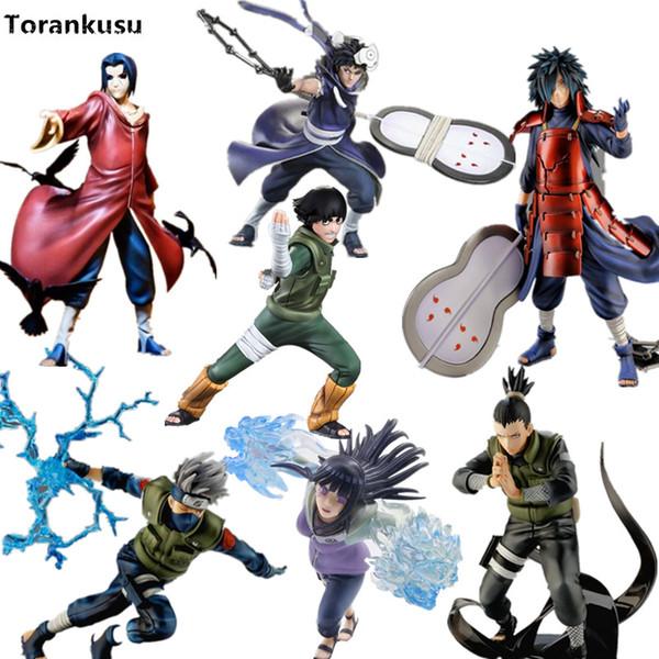 figurines toys Naruto Action Figures XTRA Itachi Kakashi Obito Madara Hinata 150-200mm PVC Anime Nartuo Shippuden Collection Figurine Toy