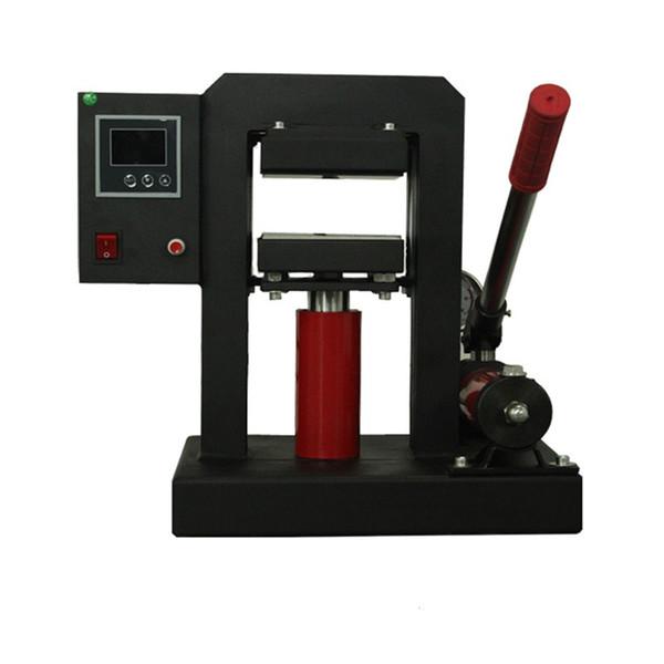 Ручной гидравлический канифоль пресс машина CK170 10tons давление 900W двойной нагреваемые пластины профессиональный масло воск извлечения набор инструментов
