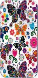 Gogo 2016 г. цветов бабочка силиконового чехла для самсунга для галактики a5 корабля из индейки HB-003792944