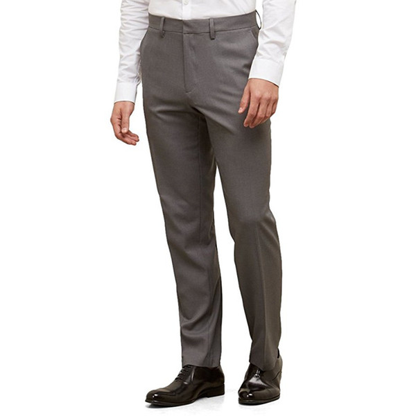 New Arrival Custom Made Men Suit Pants Blazer Dress Pants Slim Fit Stretch Casual Formal Wedding Wear Business Party Pants