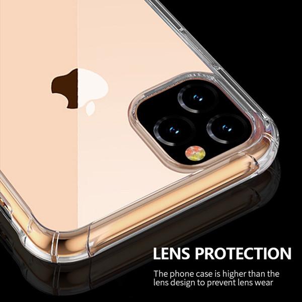 One Piece Роскошный чехол для телефона для iPhone 6S 7 8P X XS 11 11pro 11promax прозрачный с защитой от падения задняя крышка телефона дизайнера