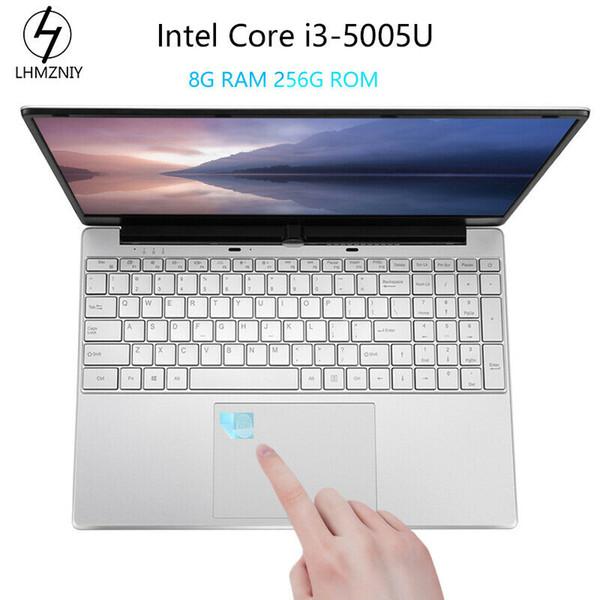 best selling 15.6 Inch Fingerprint 8GB 128GB SSD Intel Core i3 5005U Metal Laptop Windows10