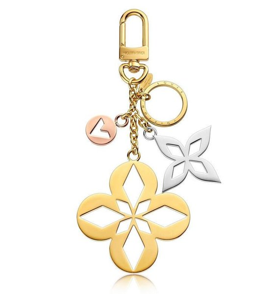 2019 Malletage Blossom Bag Charm & Key Holder M00002 Key Holders and More Leather Bracelets Chromatic Bag Charm and Key Holder Scarves Belts