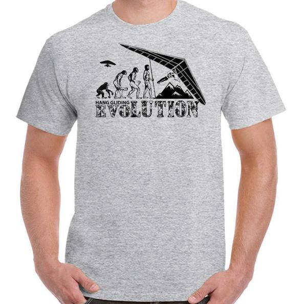 Hang Gliding Evolution Mens Funny T Shirt Hang Glider Paraglider  Paragliding Themed Shirts Latest T Shirts Design From Jie42, $12 08|  DHgate Com