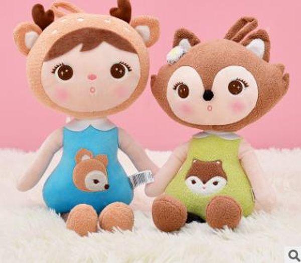 2019 45cm kawaii Stuffed Plush Animals Cartoon Kids Toys for Girls Children Boys Kawaii Baby Plush Toys Koala Panda Baby Metoo Doll