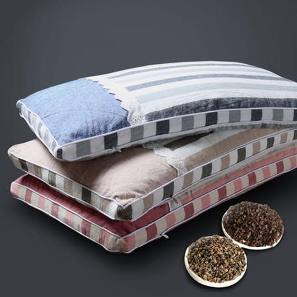 Alforfón almohada para la piel Cuello de estudiante adulto delgado y delgado Cuello solo otoño e invierno desmontable y lavable