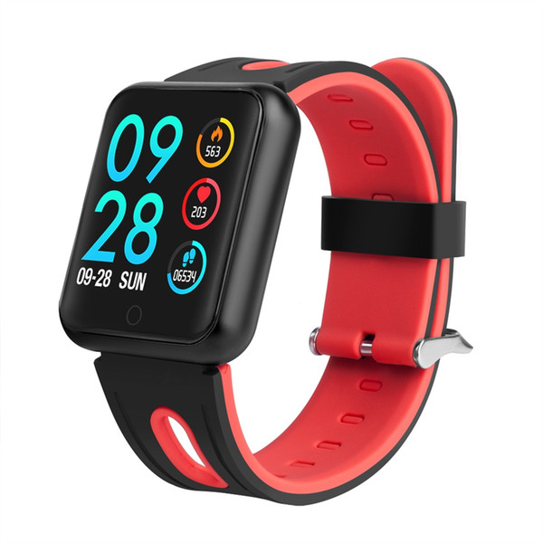 IP68 Waterproof Smart Band p68 Real-Time Heart Rate Monitor Multi-Sport Model Message Reminder Watch pk iwo watch For women