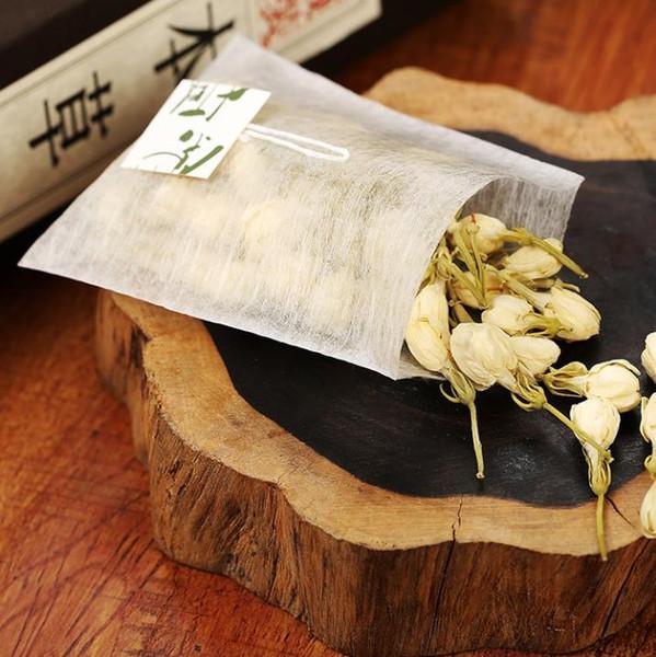 5,8 * 7cm Label Maisfaser Teebeutel Pyramidenform Heißsiegelungsfilter Teebeutel PLA Biologisch abgebauter Tee Filter