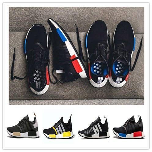 2019 NMD R1 Zapatillas Para Correr Con Running Primeknit Classic NMDs Zapatillas Deportivas Triples Y Transpirables Con Estilo Zapatillas Deportivas