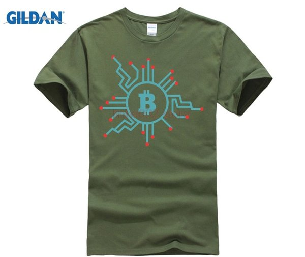 Cheap Pricing Men's Novelty Bitcoin Crypto Currency Tee Shirt Short Sleeves Custom Printing T Shirt Team XXXL Size