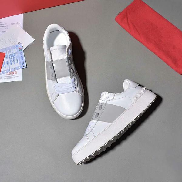 París Diseñador zapatillas de deporte de los calzados informales para mujer para hombre corredores deportivos de punto de malla transpirable cómodo talón plano yl18061008 Zapato de vestir