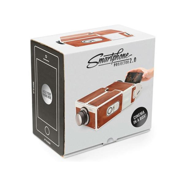 Mini Proiettore portatile per cinema Proiettore per smartphone Proiettore per cellulare Proiettore per proiettore Home Audio Video