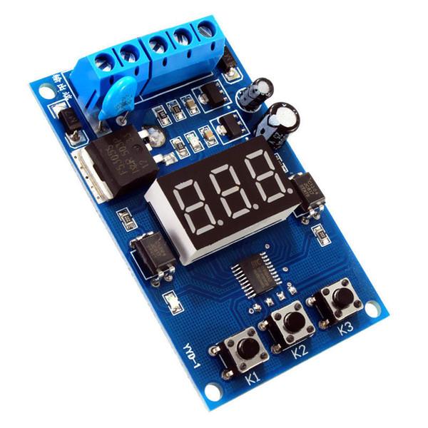 Mesure Analyse Instruments Timers 1sec ~ 999Min Pulse Control Board Signal Circuit / moteur / LED 12v 24v minuteur de délai