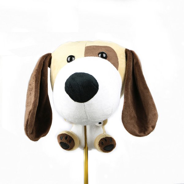 Golf club head cover, golf no. 1 wooden head cover, animal head protection cover, new golf accessories