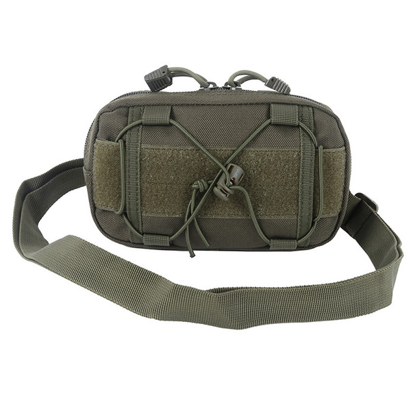 Outdoor Tactical EDC Molle Waist Bags Utility Map Admin Pouch Tool Belt Organizer Waist Pack Accessory Hunting Bag #257951