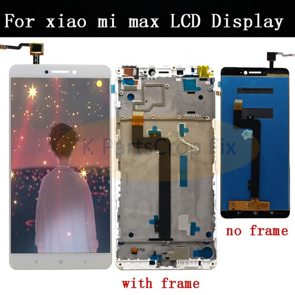 6.44 '' XIAOMI Mi Max Display LCD Touch Screen Digitizer Assembly Schermo di ricambio per display LCD Mi Max con cornice