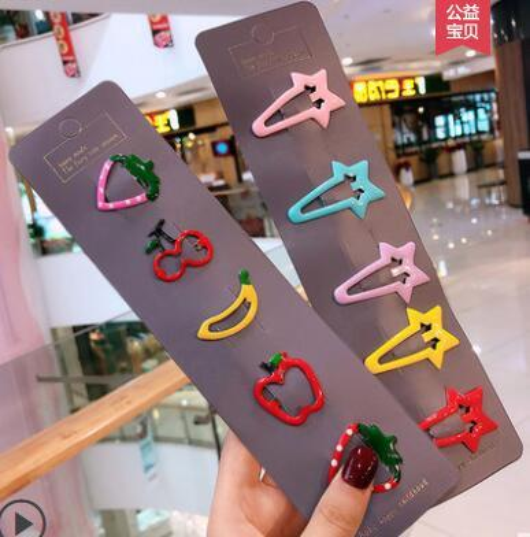 best selling Children's hair accessories girls headdress Korea cute cute baby baby princess hairpin small girl clip baby card