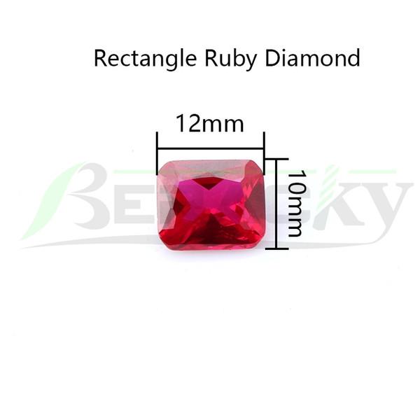 Прямоугольник Алмаз Рубин