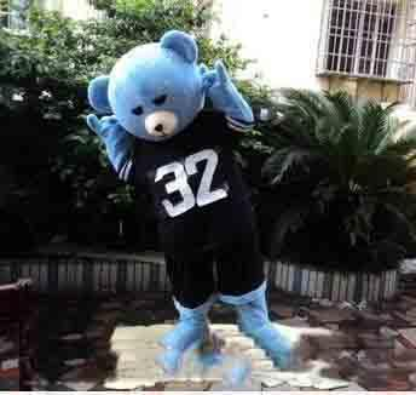 2019 factory sale hot Teddy Bear of TED Adult Size Halloween Cartoon Mascot Costume Fancy Dress