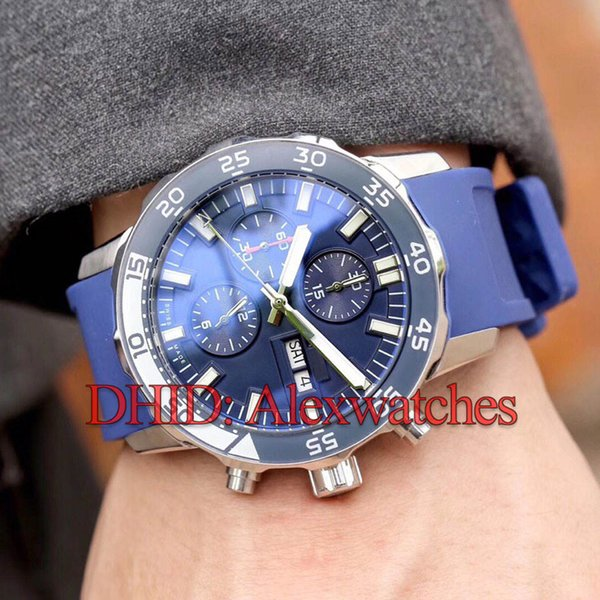 Sports Watches Man Mechanical Automatic Movement Watch 42mm 316L Stainless Steel Case Rubber Band Waterproof Swim Mens Designer Watches