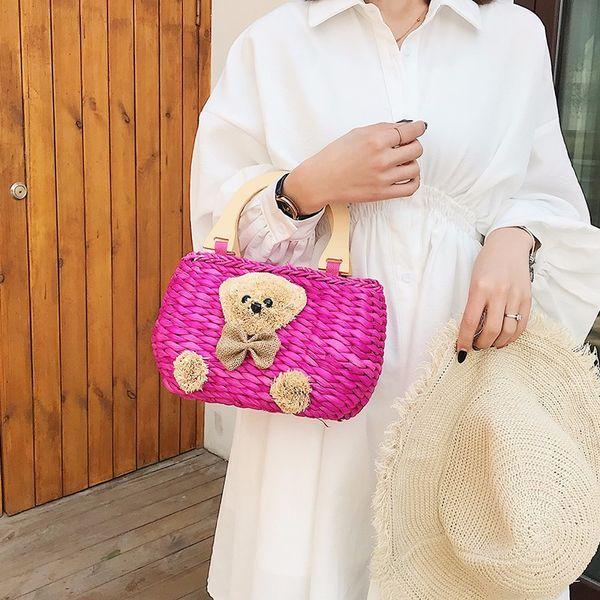 Moda británica simple pequeño bolso cuadrado diseñador de ropa de mujer tejido de cuero tejido borla bolso de cadena de la historieta qq165