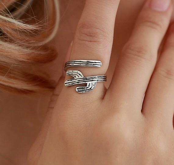 Catus Womens Rings Open Novelty Antique Gold Antique Silver Tone Jewelry Infinite Rings Gift Idea
