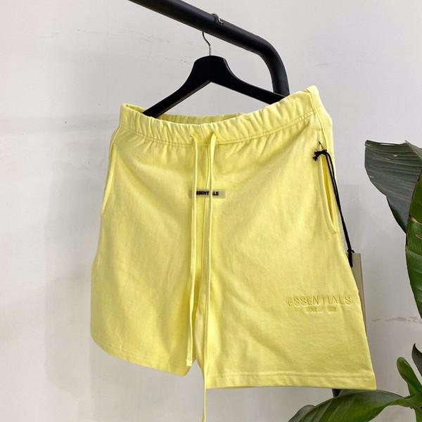 Shorts Amarelo
