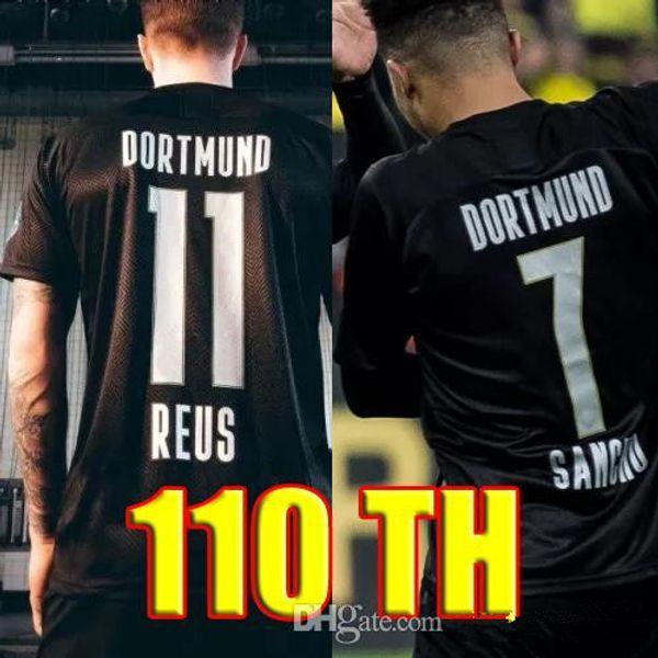 2020 Borussia Dortmund 110th Soccer Jersey 19 20 Camisetas Reus 110 Bvb Paco Alcacer Sancho Gotze 2019 2020 Football Shirts Kits Black Buy At The Price Of 15 39 In Dhgate Com Imall Com