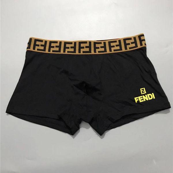 Designer Boxers F Marque Hommes Sous-Vêtements Lettres De Luxe Design Respirant Doux Haute Qualité Shorts Pantalons Hommes garçons Underpants 5 Couleurs A6503