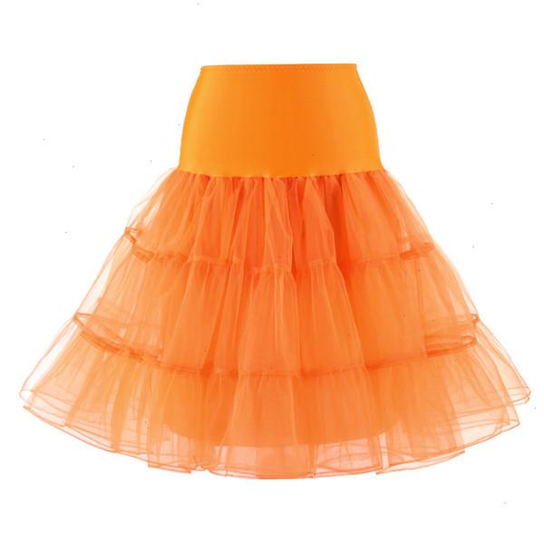 Апельсиновая юбка