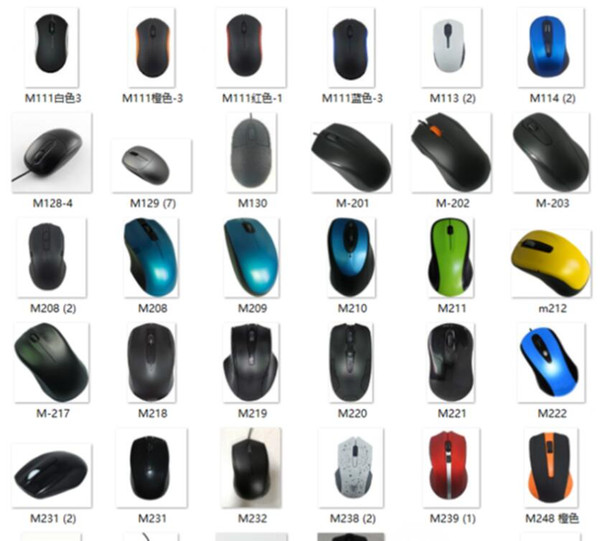 wholesale USB Optical Wireless Mouse USB Receiver mouse Smart Sleep Energy-Saving Mice for Computer Tablet PC Laptop Desktop